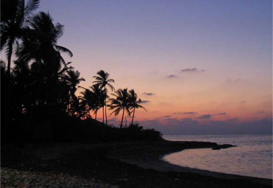 Beautyful evening of Lakshadweep